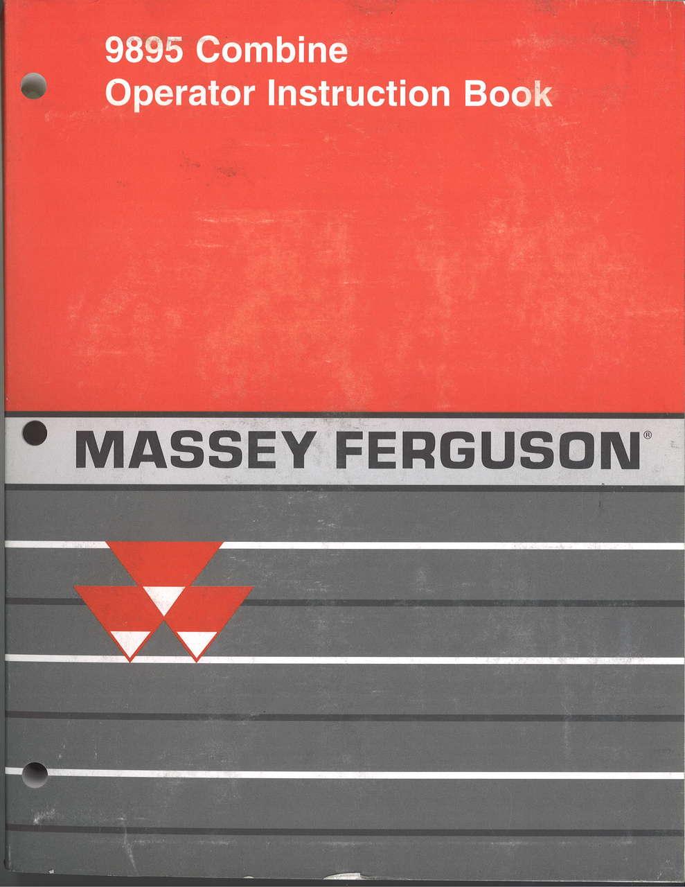 Massey Ferguson 30B Backhoe Attachment Parts Manual Attachment